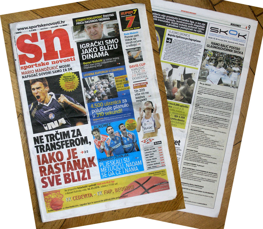 Časopis Sportske novosti