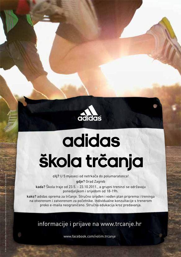 Adidas skola trcanja