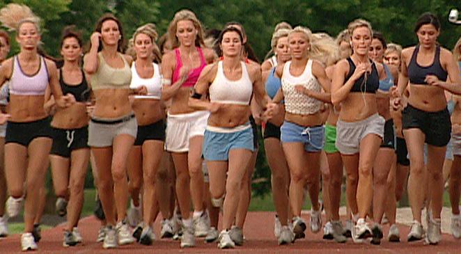 Djevojke trču